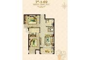 海唐罗马花园两室两厅一卫-88