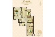 海唐罗马花园三室两厅两卫110