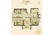 海唐罗马花园三室两厅一卫92
