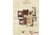 阳光·汾河湾户型图A户型 3室2 面积:142.51m2