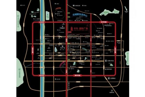 中车国际广场小区图