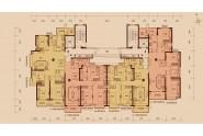 太原恒大雅苑7号楼3、4号楼4-33层标准层图