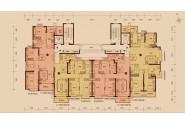 太原恒大雅苑7号楼1、2单元4-33层标准层图