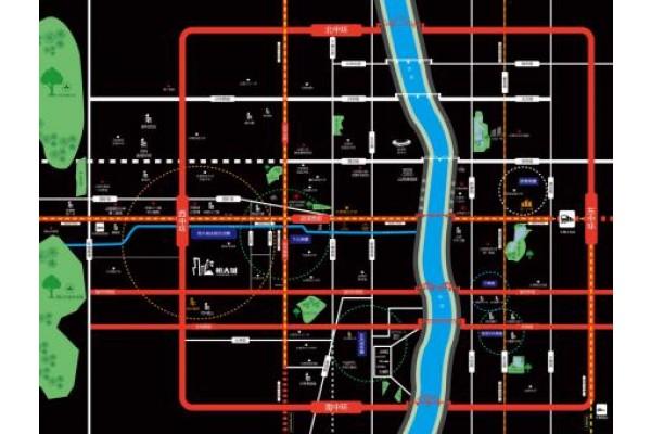 恒大城区位图