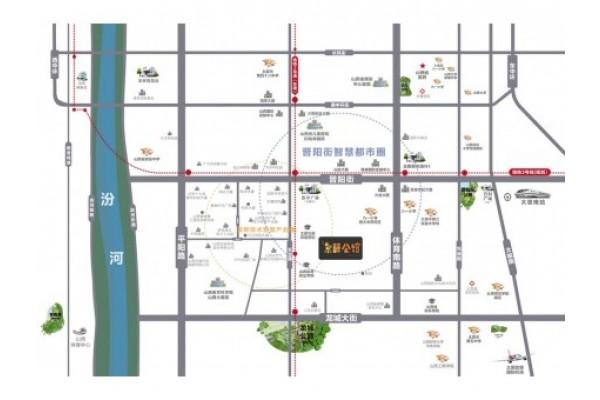 实地·紫藤公馆区位图