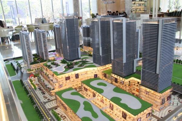 绿城·太原广场售楼部实景图