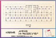 A2地块6#(建面41-70㎡)户型