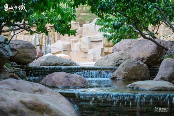 恒大山水城园林实景图