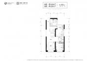 绿城太原广场-三室两厅一卫-122㎡