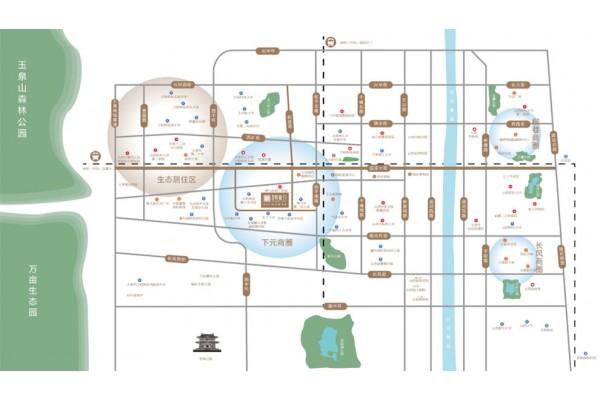 富地凯旋门交通图