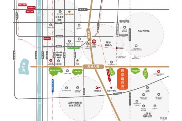 【通建融创城】交通规划图