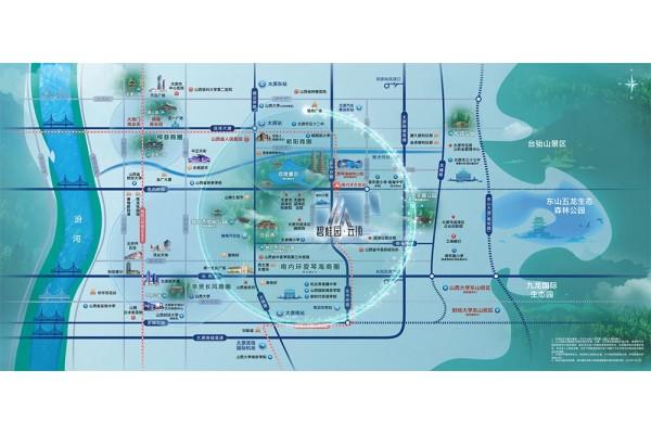 碧桂园云顶区位图