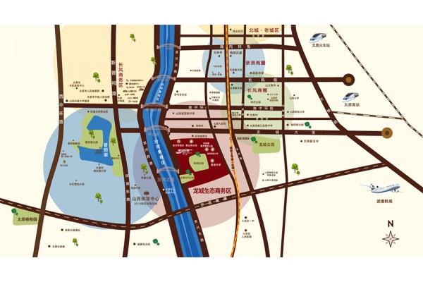 太原星河湾交通图