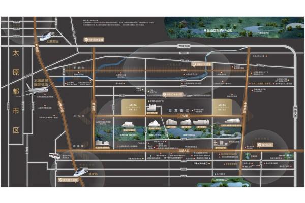 保利锦上交通区位图