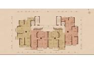 太原恒大雅苑三3号楼3、4单元3-22层标准层图