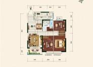恒大御湖庄园6号楼单体-01-120.40㎡-三室二厅一卫