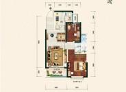 恒大御湖庄园4号楼单体-04-88.11㎡-二室二厅一卫