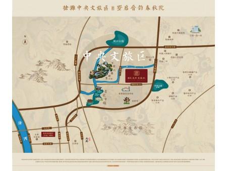 龙投·远洋·晋春秋区位图