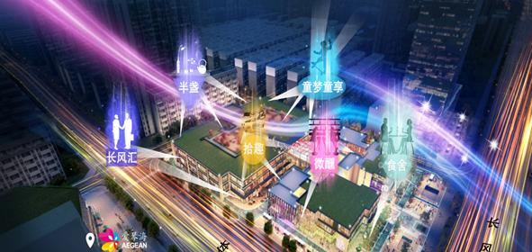 绿城太原广场夜间经济规划