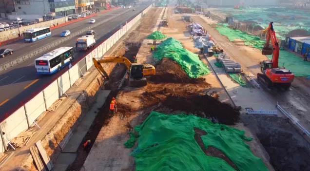 太原地铁1号线各个站点陆续开建!盾构阶段将下穿汾河.jpg