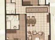 十二院城B2-1三室两厅两卫户型