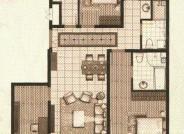 十二院城B3-1四室两厅两卫户型