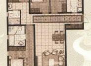 十二院城A1-7四室两厅两卫户型