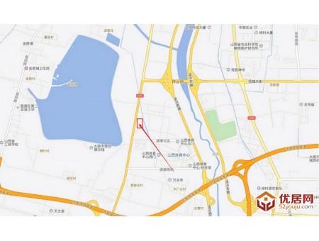 晋阳湖壹号交通图