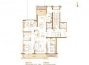 万达龙樾府189平米户型