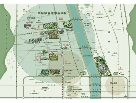 万科太原小镇交通图