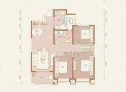 太原恒大悦府 三室两厅一卫 建面约125.1㎡