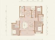 太原恒大悦府 三室两厅三卫 建面约210.5㎡
