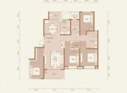 太原恒大悦府 四室两厅两卫 建面约178.5㎡