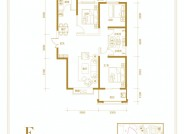 和平里三室两厅两卫123.48㎡