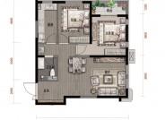 鸿赫·时代天际87㎡2室2厅一卫