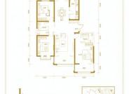 和平里三室两厅两卫160.56㎡