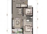 鸿赫·时代天际116㎡3室2厅一卫