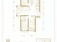 和平里三室两厅两卫134.30㎡