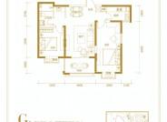 和平里两室两厅一卫97.48㎡