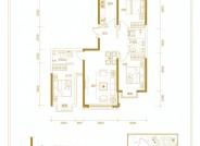 和平里三室两厅两卫110.65㎡