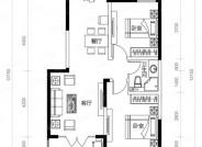 A4户型-2室2厅2卫-86.7㎡